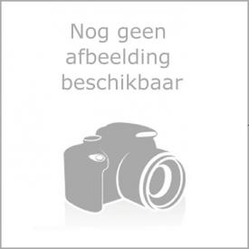 Wiesbaden wastafel 80cmx36cm één kraangat wit